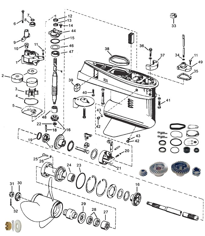 Trim Cylinders And Hydraulic Hoses moreover 471408 Purchased 1977 Mercury Thrunderbolt 1150 115 Possible Missing Parts moreover Cylinder Block Crankcase And Covers besides 8 Hp Mercury Diagram moreover Johnson Evinrude Parts. on force outboard wiring diagram