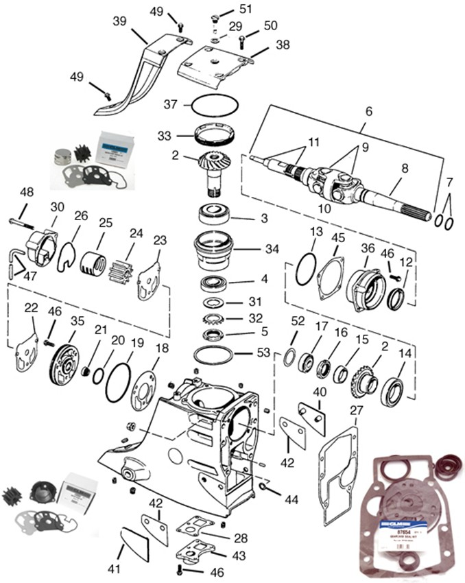 ShowAssembly also Ch8 further Mercruiser 140 Outdrive Diagram as well Walbro And Nikki Carburetors additionally 274864 Air Fuel Lines Retrofit Kit. on oil pump filter